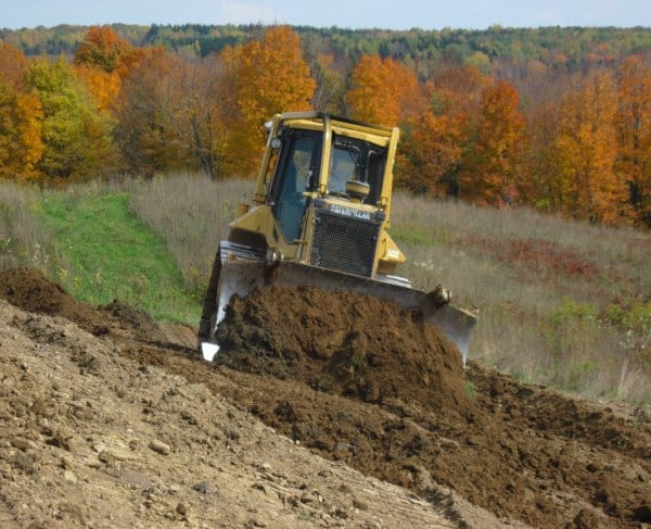 Excavating Services Western NY